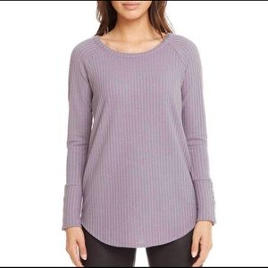 Chaser Waffle Knit Thermal. Purple. Size Small.